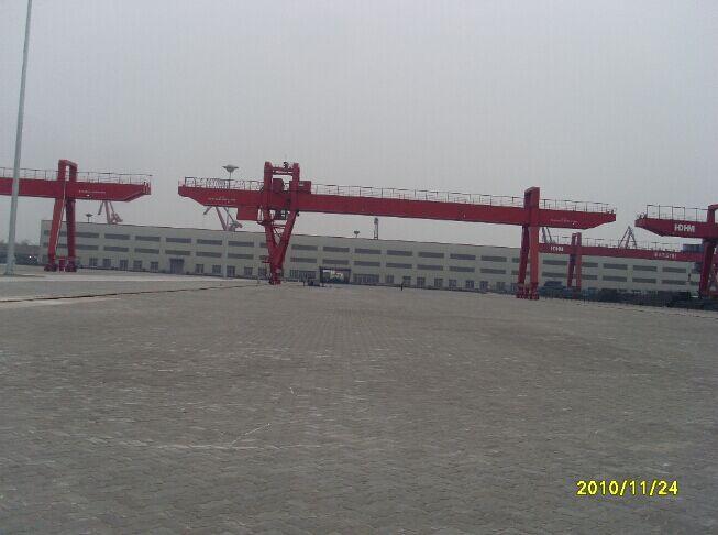 马鞍山长江港口联锁块工程