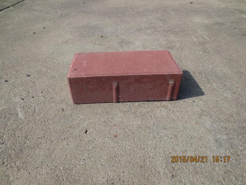 200*100*60紅色通體路面磚