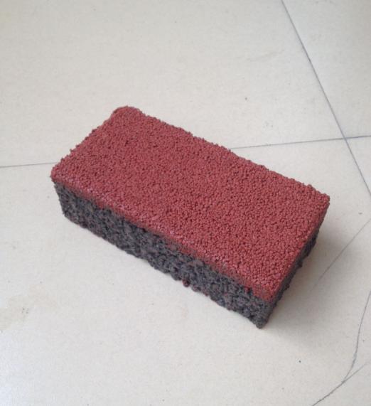 200*100*60红色透水砖
