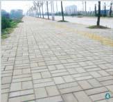 梅塘路路面砖工程