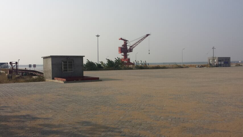 东至县东流港联锁块工程